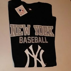 Short Sleeves YANKEES Tee Shirt XL